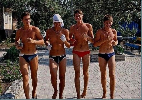 голые парни