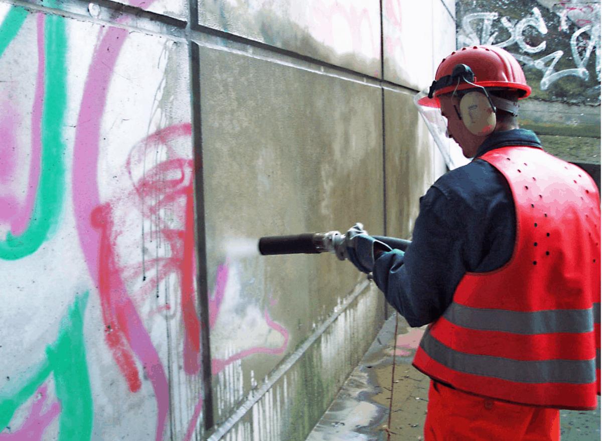 Почистване на фасади Blastvv