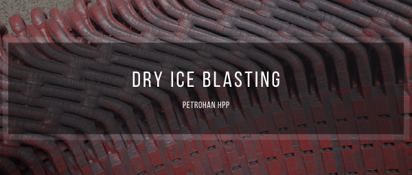 Dry ice blasting at Petrohan HPP