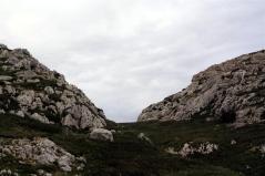 Las montañas de alrededor