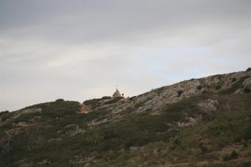 Los excursionistas llegaron a la cruz