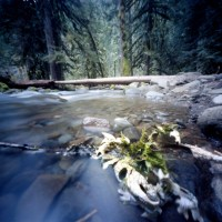 Pinhole at the Salmon River