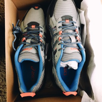 5/12: Yay new running shoes!