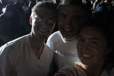 Charlie, Tom and myself