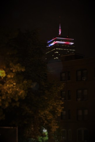 Our lovely Prudential tower on America's birthday
