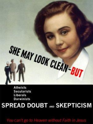 Dangerous skeptics