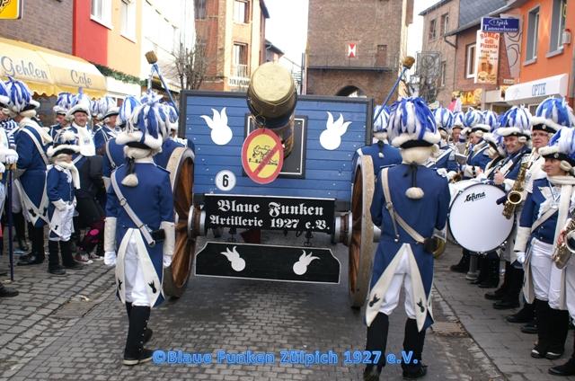 Karneval der Kanoniere 2012