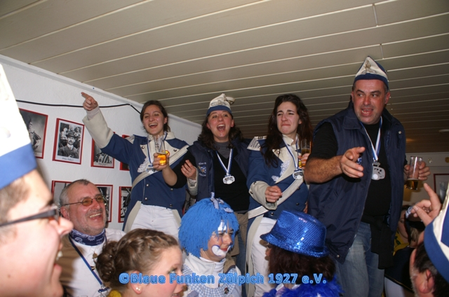 Karneval 2012 mit unseren Freunden aus Blaye – Carnaval 2012 avec nos amis de Blaye