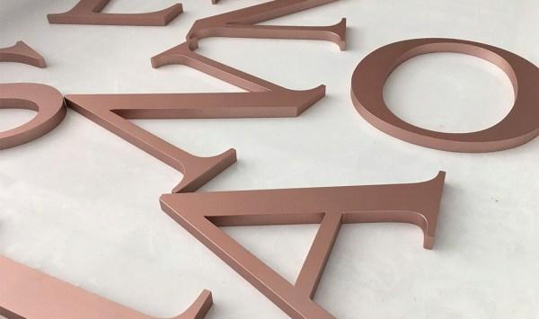 letras relieve letreros tarragona