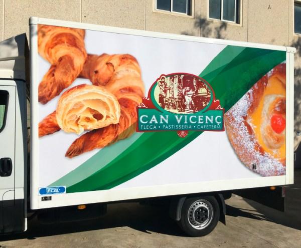 rotular camión en tarragona