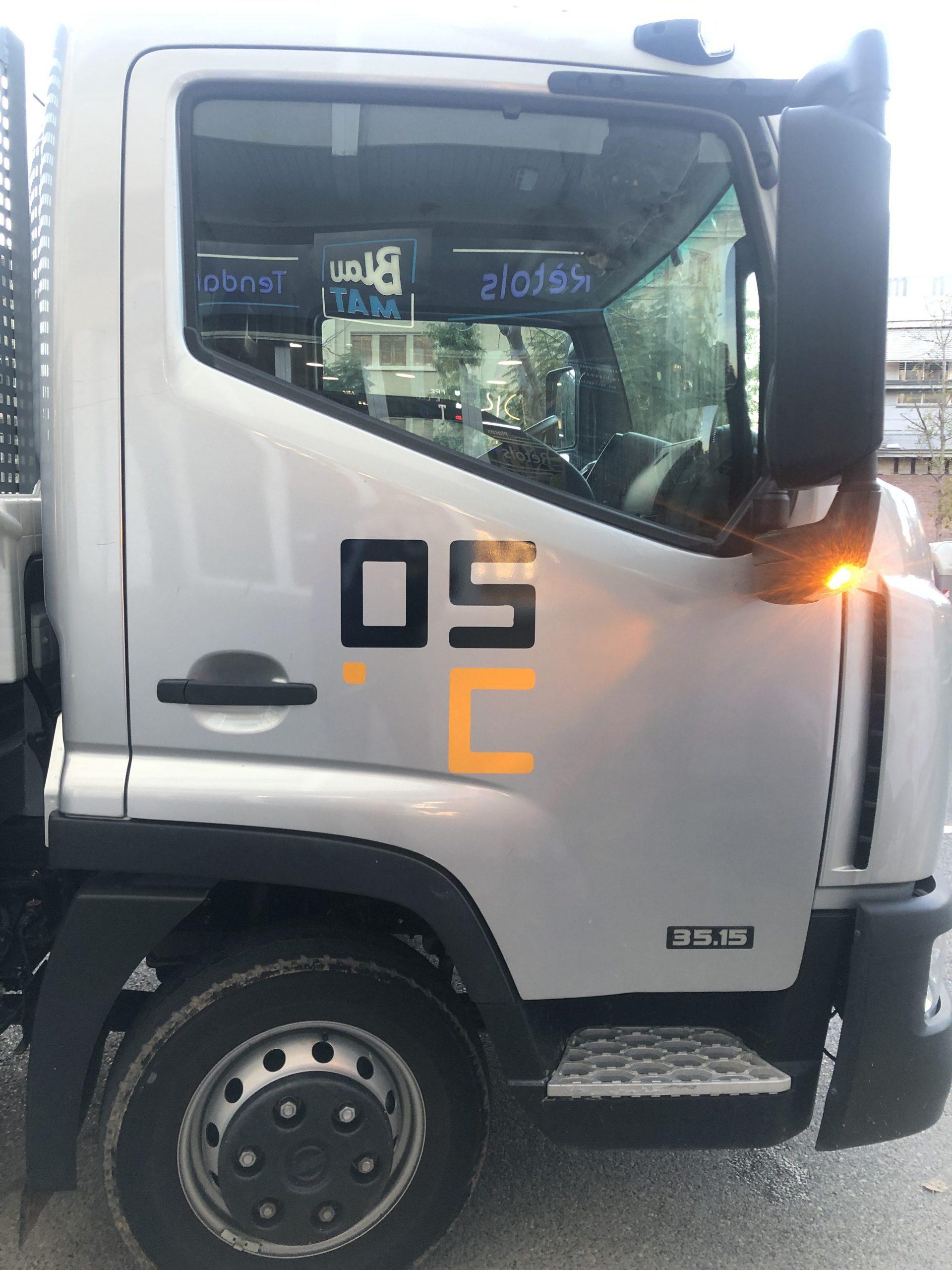 rotulaciones de vehículos empresa en Tarragona