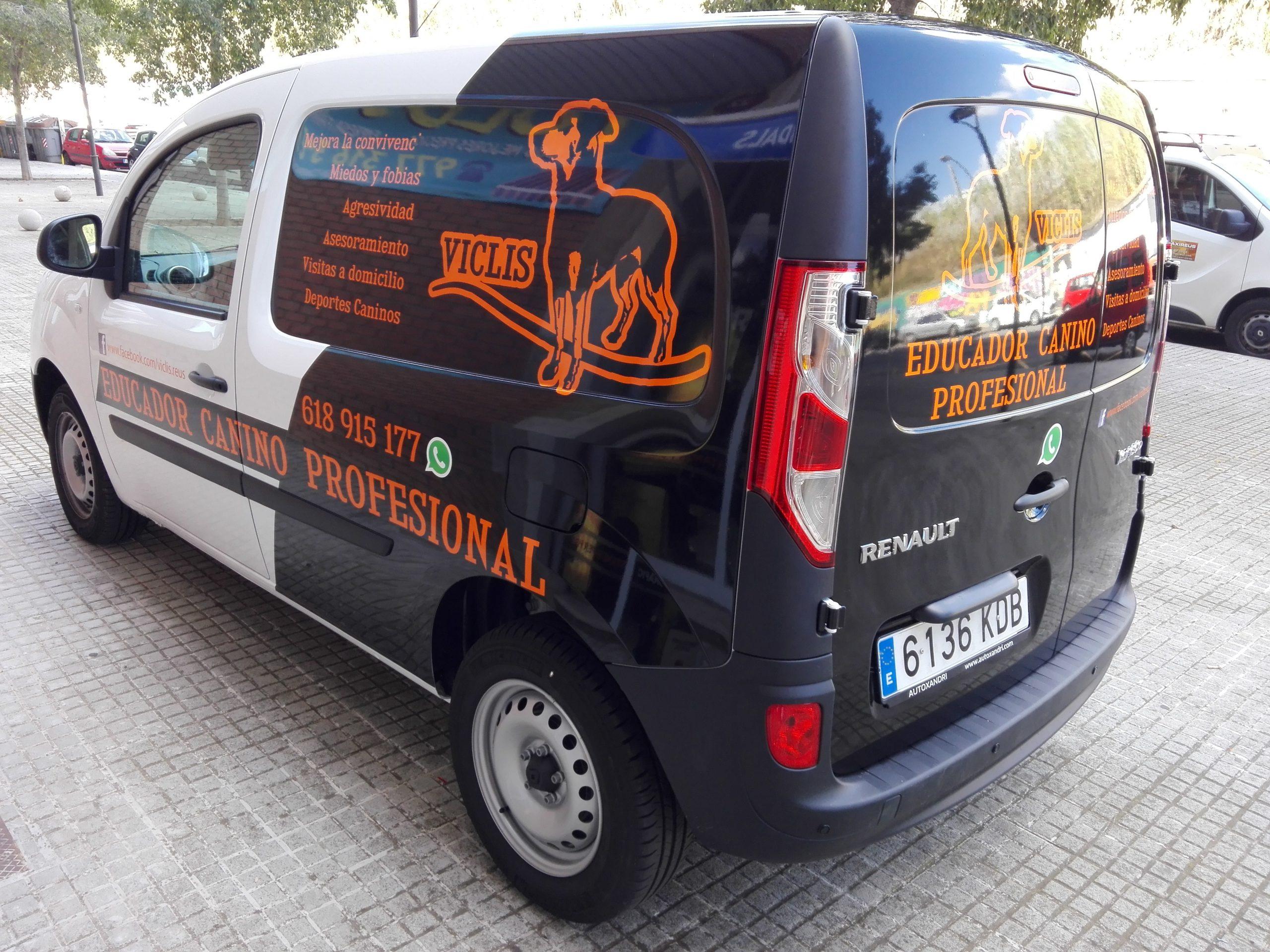 rotular furgoneta semi integral tarragona
