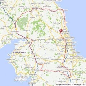 Border Raid Route Map