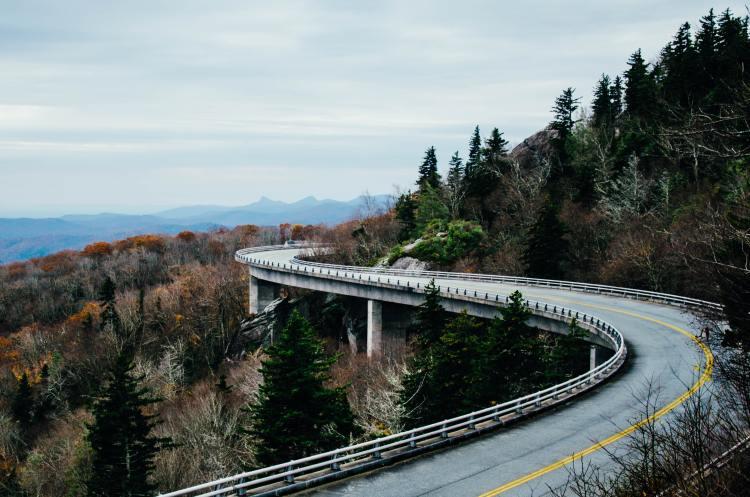 Blue Ridge Parkway Bicycle Tour Viaduct