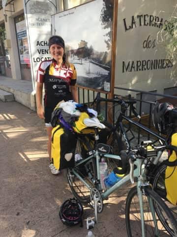 bicycle tour bike trip packing clothing gear