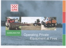 CFA - Operating Private Equipment at Fires