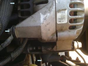 Wires to alternator 96 43L 2wd  Blazer Forum  Chevy