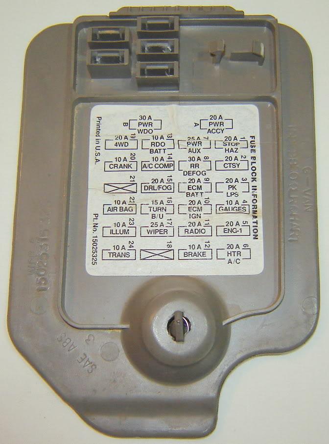 18384d1384453191 3rd brake light not getting power fuse where dsc01868?resize=665%2C897 1996 chevy blazer trailer wiring diagram wiring diagram,