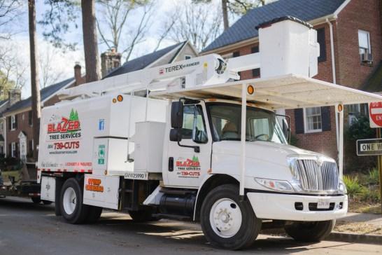 Blazer Tree Services, Richmond VA area