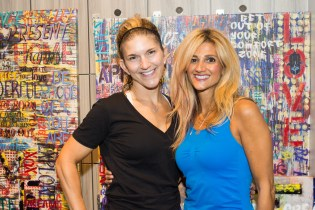 Renata Merino Bregstone, Founder and CEO of Blazin' Babes & Ronit Wiener, owner of RogaWear