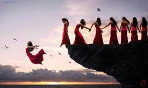 sky dancers modern