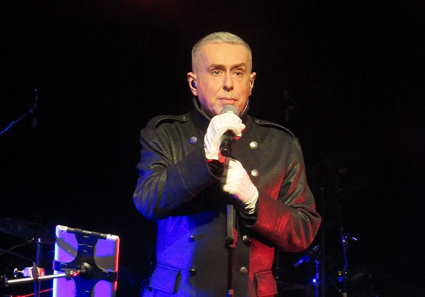 Holly Johnson Live at the Liverpool Philharmonic Hall