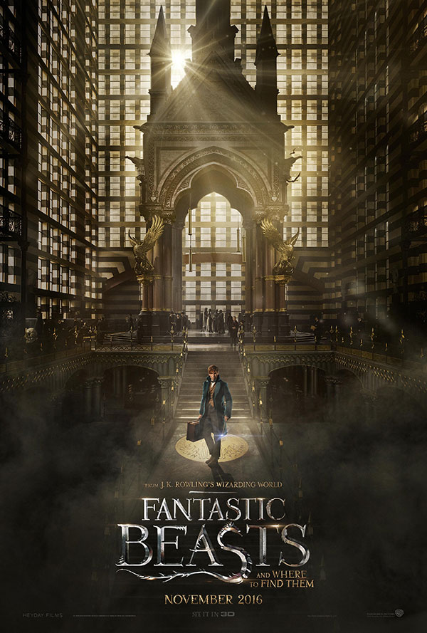 Fatastic Beasts Annoucement Poster