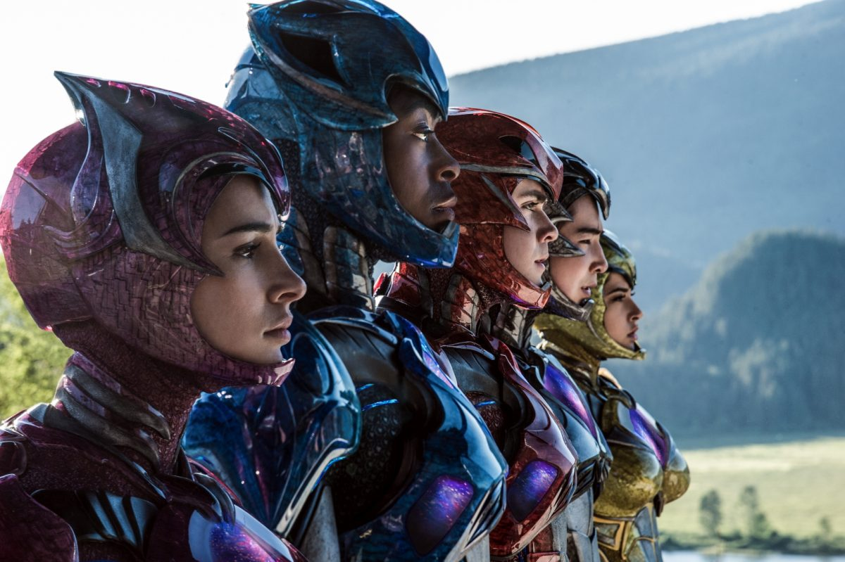 Two new clips from the Power Rangers!
