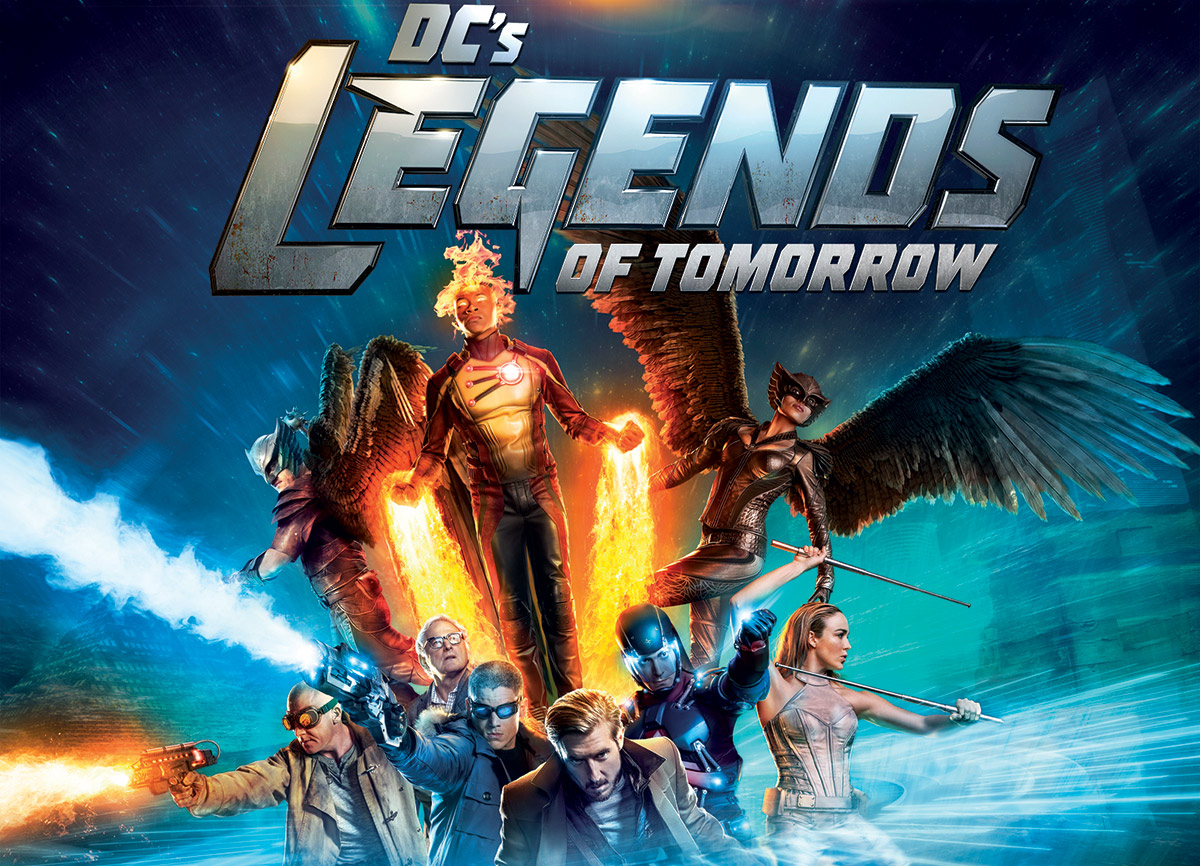 DC's Legends of Tomorrow Season 1 is Flying on to Blu-ray and DVD