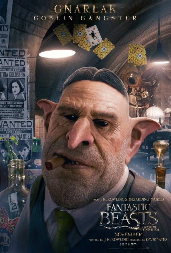 Fantastic Beasts and Where To Find Them - Character Poster - Ron Perlman