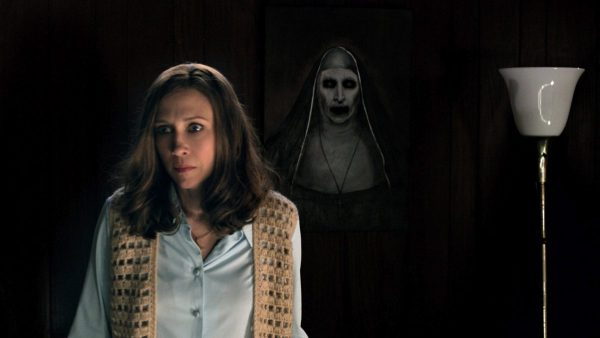 The Conjuring 2 - Vera Farmiga and the Terrifying Nun (Courtesy of Warner Bros. Pirctures)