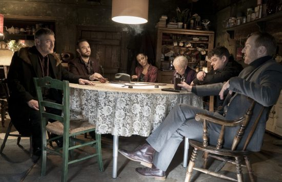 Eat Locals Cast in the Hertfordshire farmhouse