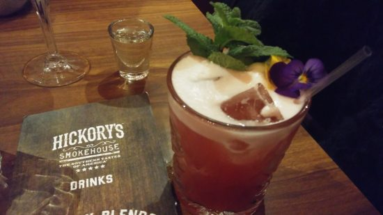 Hickory's 2for1 Cocktail - Huckleberry Sour