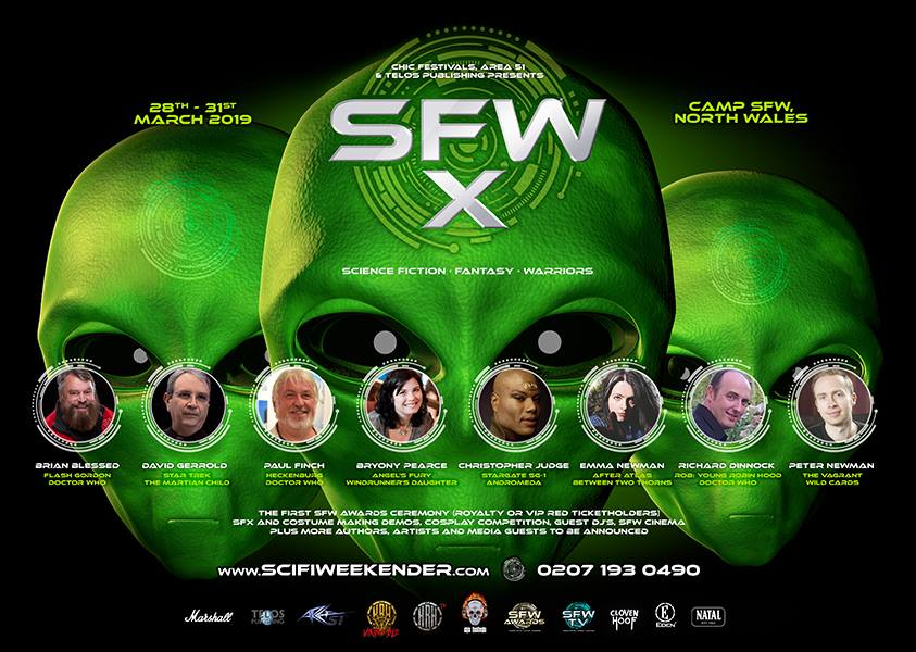 Sci-Fi Weekender finds a new home and SFW-X becomes Two!