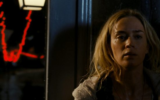 Emily Blunt in A QUIET PLACE, from Paramount Pictures.