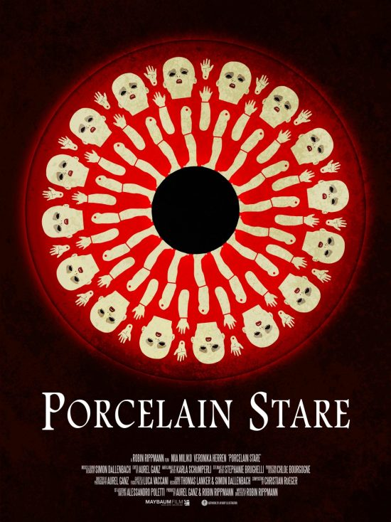 Porcelain Stare Poster A3