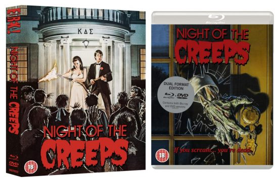 Night of the Creeps (Dual-Format - Eureka Entertainment)