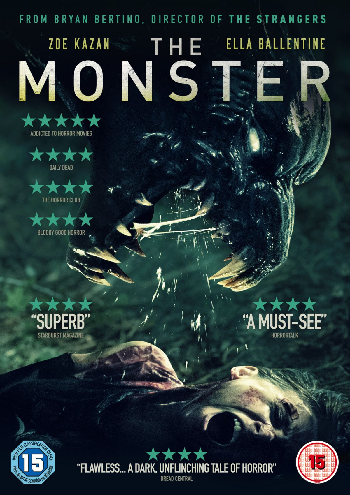 The Monster – Time to survive the night! – DVD Review