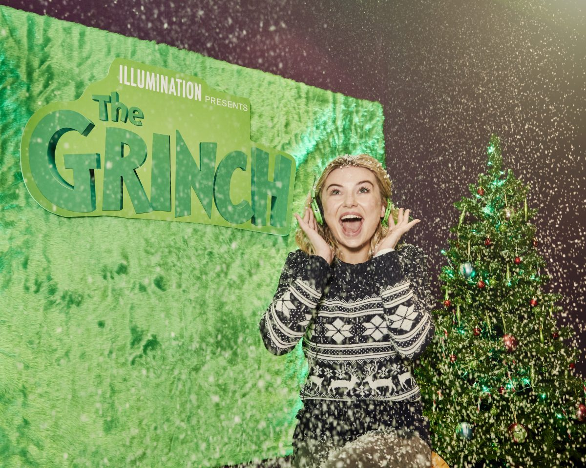 Georgia 'Toff' Toffolo joins the UK cast of The Grinch!