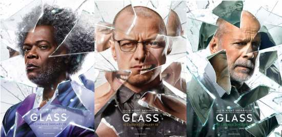 Glass - New Character Posters
