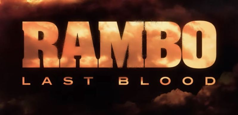 Rambo Last Blood - Title