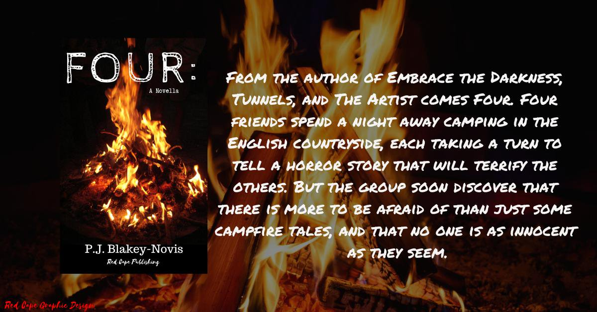 Book Review 'Four' from author P J  Blakey-Novis • Blazing Minds