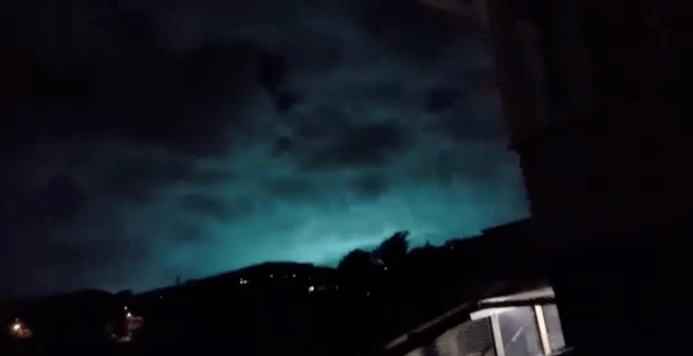 Mysterious green and blue flashes appeared as New Zealand earthquake struck