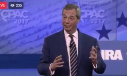 Nigel Farage Mocks CNN In Powerful CPAC Speech, Crowd Gives Standing Ovation! (VIDEO)