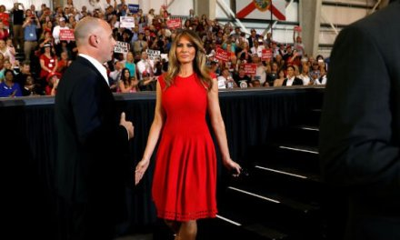 Why Melania Trump Praying in Florida Was a Historic Event