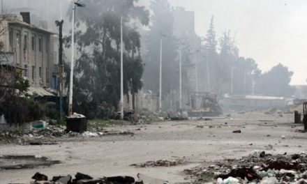 U.N. says 300,000 civilians at risk in Damascus battle