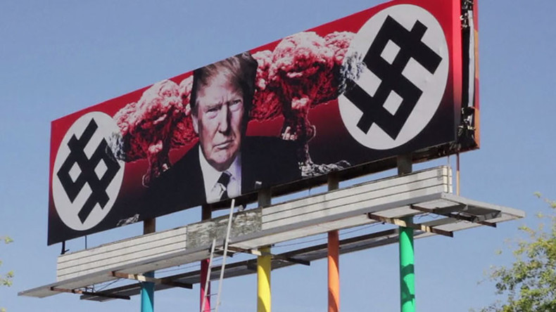 Controversial Trump Billboard In Arizona Drawing Outrage