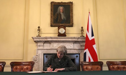 BREXIT! PM Signs Official Letter to Brussels Beginning Britain's Departure from the European Union