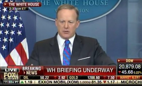 Sean Spicer Blasts Media on Fake Russia Story and Fake News — Media Erupts (VIDEO)