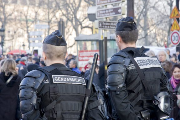 ISLAMIST Shoots Two Police Officers on French Reunion Island